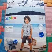 Lupilu набор 2 футболки размер 86-92