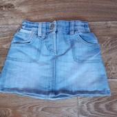 джинсовая юбка  на рост 110-116