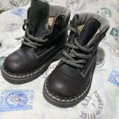 24 р-р утепленные ботинки