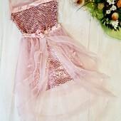 Останнє!!! Дороге,шикарне нарядне плаття.Турція)Якість бомба.Ніжне і оригінальне.Не пропустіть!