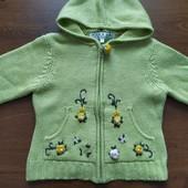 теплый свитерок на 5-6лет