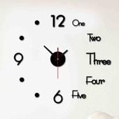 Часы с буквами на стену сделай сам