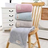 Новинка!Супервпитывающие толстые высококачественные бамбуковые полотенца!Очень мягкие и нежные!
