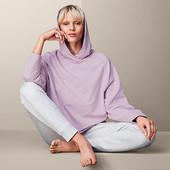☘ Жіночий светр у стилі лаунж, бузковий вереск від Tchibo(Германия), розмір наш: 46-50 (40/42 євро)