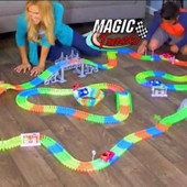 Magic Glow Tracks гибкий гоночный трек!!220 детал