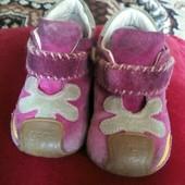 Замшевые ботиночки сhicco р. 18 - стелька 11,5 см