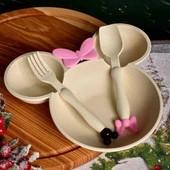 Отличная идея для подарка)Набор тарелка,вилка+ложка))О покупке не пожалеете)