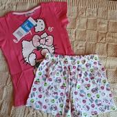 Брендовая пижама Hello Kitty 6 лет 116 см