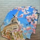 Новинка! Невероятно красивый и прочный зонт-трость 16 спиц