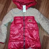 Утеплённые деми курточки для девочек