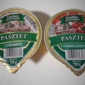 Польша!Очень вкусный паштет(на выбор один) курица или курица с помидорами 130 грамм