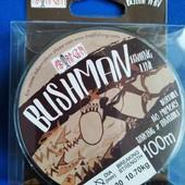 """Волосінь риболовна """"Bushman"""" 100м."""