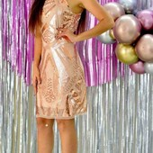 очаровательное женское платье с пайетками, беспл. дост. укр почтой