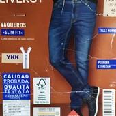 """Стильные модные мужские джинсы """"slim fit"""" Livergy Германия размер 46 (30/34)"""