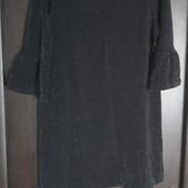 Шикарное вечернее блестящее платье с люрексом F&F uk14 eur42 Сост.нового! Готовимся к празднику)