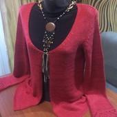 Красивый коралловый кардиган или юбка