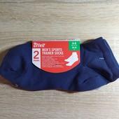 Комплект 2 шт мужские спортивные короткие носки Crivit Германия размер 39-42