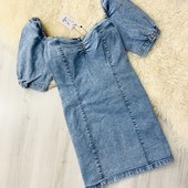 ❤️Шикарное джинсовое платье за пол цены! Испания lefties от Zara