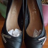 Классные туфли 37р, 23,5см. Осталась последняя пара