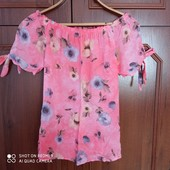 Летняя натуральная блуза. Италия