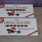Шоколад молочный Baron Delicadore Малиновый Чизкейк, 200 г (Польша)