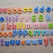 Англійська абетка 63 літери
