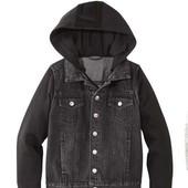 ФФ110.нюанс.Джинсовая куртка.рукав на байке pepperts 134