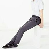 Школьеые брюки/ткань с покрытием Teflon/размер 13-14 лет