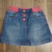Собирайте лоты!!!Класная джинсовая юбочка