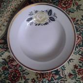 тарелка фарфоровая Дулево, глубокая