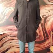 Пальто весеннее, стильное на подростка. р.46-48. Замеры