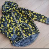 Кардиганчик из тонкой пальтовой ткани для девочек