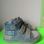 Ботинки- кеды кожа полностью Голландия, Develab