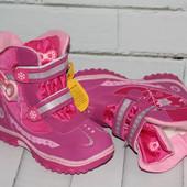 Зимние термо сапоги ботинки с ледоступами, носочек прорезинен, выбор цветов и размеров, отзывы читай