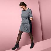 Идеальное платье с контрастными вставками по бокам Tchibo(германия) размер 48/50 евро, наш 54/56