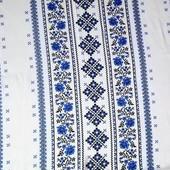 Вафельное полотно Вышиванка, 100%хлопок, отрез 0,7м*1,5м, на 3 полотенца