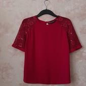 Красивая блуза малинового цвета ! УП скидка 10%