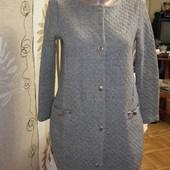 Теплый кардиган пиджак на 11 лет,рост 146,river island