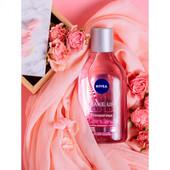 Мицеллярная вода + розовая вода Nivea make up expert для лица, глаз и губ, 400 мл