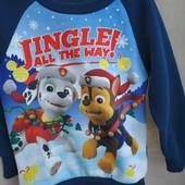 Тонкий свитер с начесом nickelodeon на 2-3 года