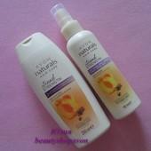 Косметический набор Avon Абрикос-масло ши: шампунь + бальзам-спрей Эйвон