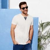 Классная мужская футболка Livergy Германия размер М (48/50)