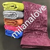 """Отличное полотенце из микрофибра """" Розочки """" Очень красивое и мягкое Отличного качества"""