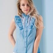Рубашка женская с гипюром. Размер s, m, l