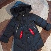 Крутая куртка на рост 134-140, Состояние нового!
