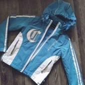 Очень красивая куртка для принцессы 134-140