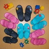 Лёгкие и практичные сандалии аналог Crocs, четыре цвета! +Украшения по блиц-цене