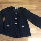 Пиджак в стиле Шанель для маленькой модницы