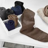 лот 1 пара! Носки из высококачественного органического хлопка Tchibo германия размер 44-46.