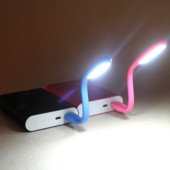 Готовим подарки! Гибкая usb лампа, подсветка для ноутбука, usb фонарик
